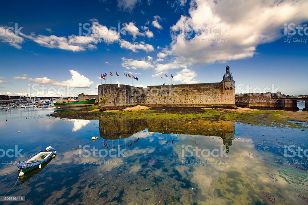 From Concarneau, Brittany stock photo
