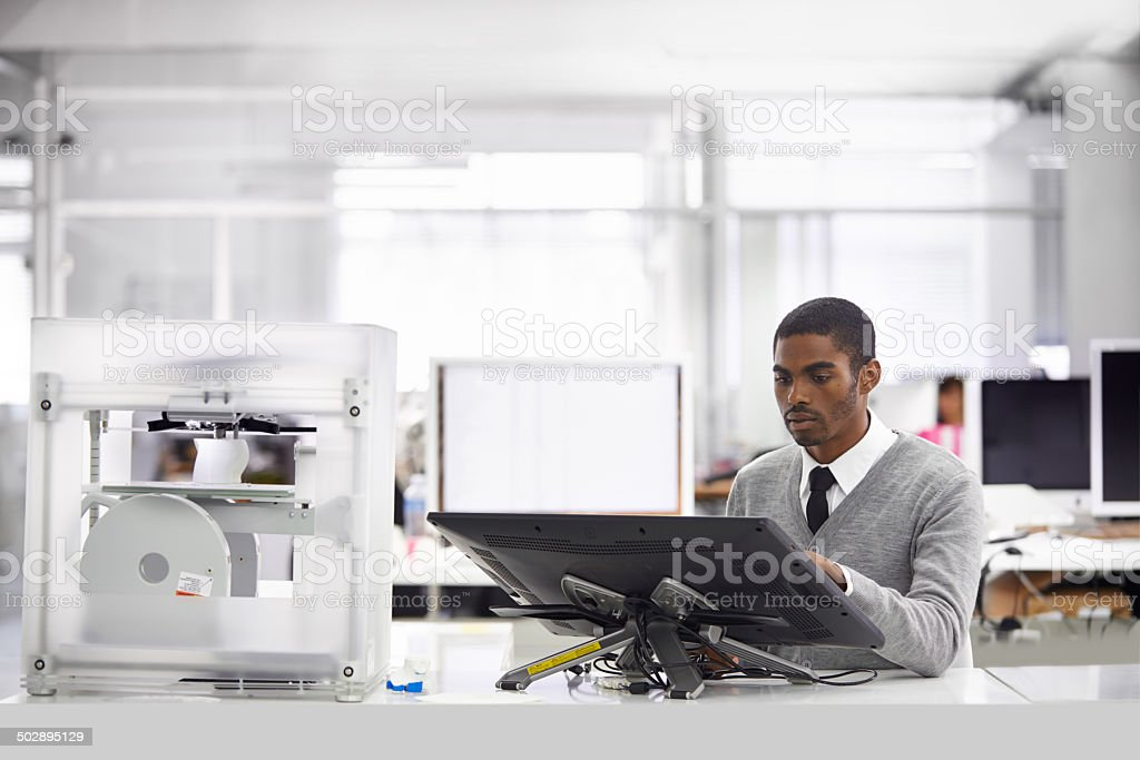 From concept to reality stock photo