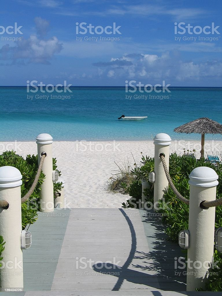 From Dock to Ocean royalty-free stock photo