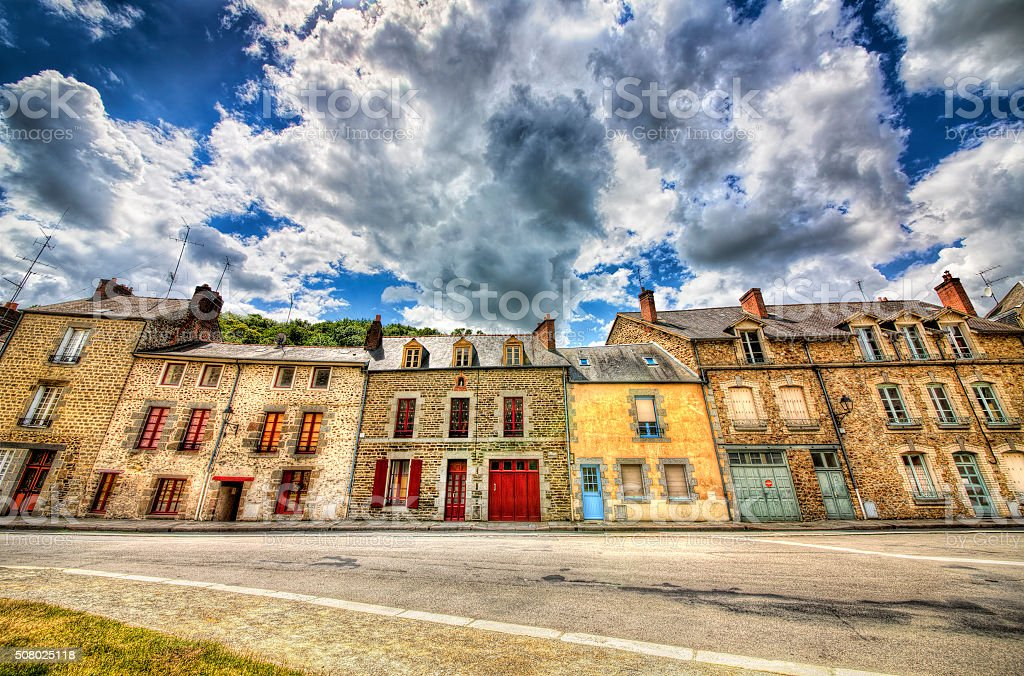 From Fougeres, Brittany stock photo