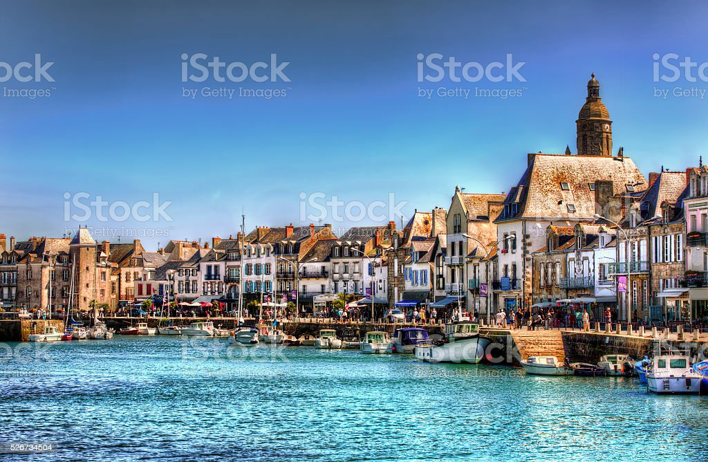 From Le Croisic, Loire-Atlantique, France stock photo