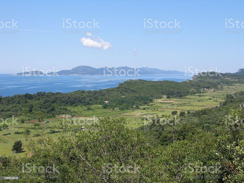 From one island to another stock photo