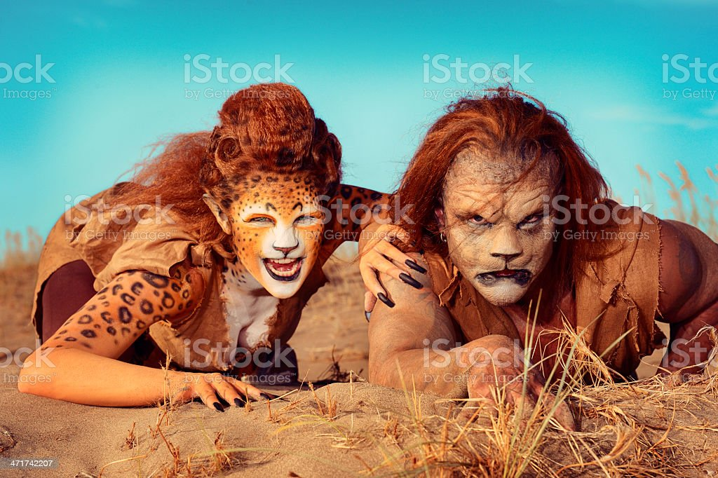 From Out Of Africa Comes The Humanoids royalty-free stock photo