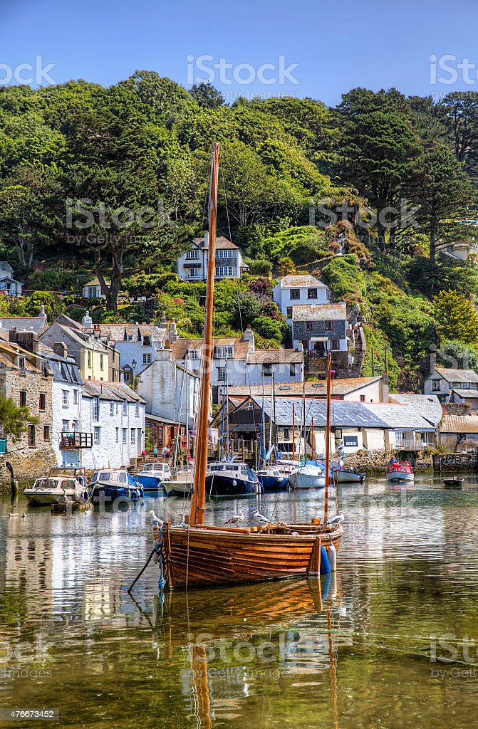 From Polperro, Cornwall stock photo