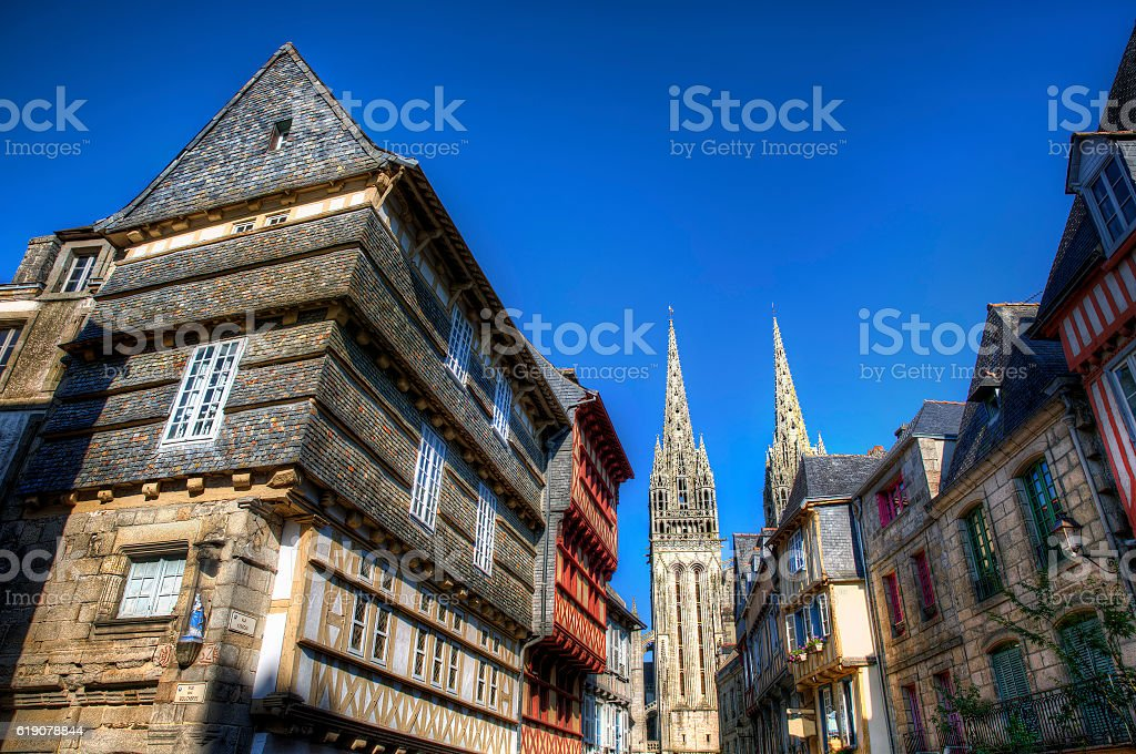 From Quimper, Brittany stock photo