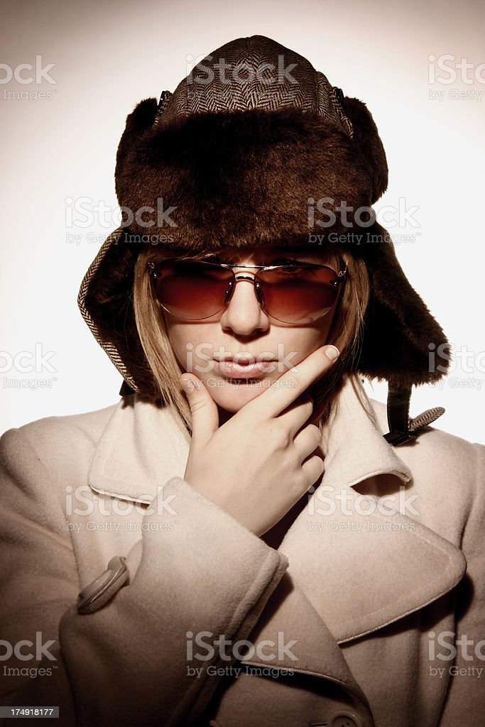 From Russia royalty-free stock photo