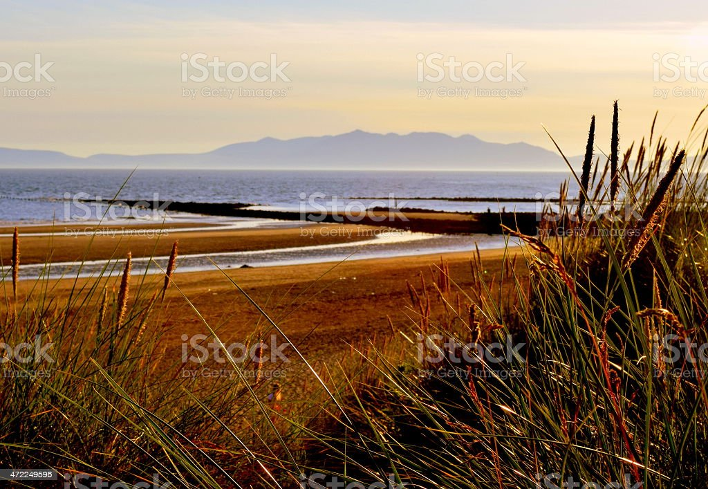 From Sand Dune to Arran stock photo