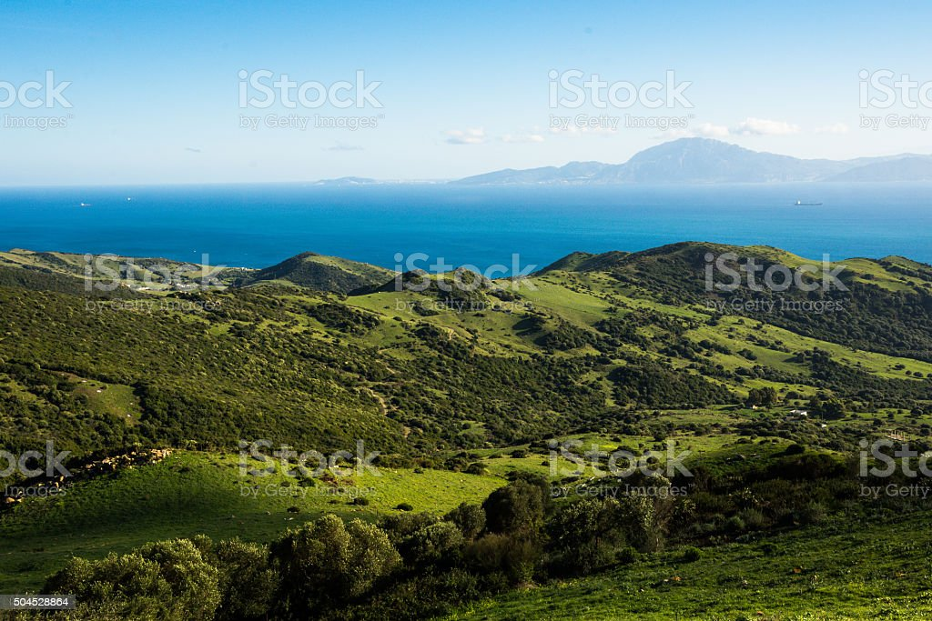 From Spain to Morocco stock photo