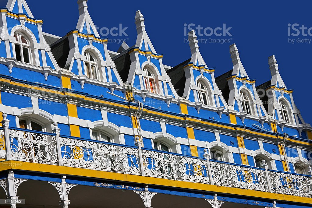From the balcony royalty-free stock photo