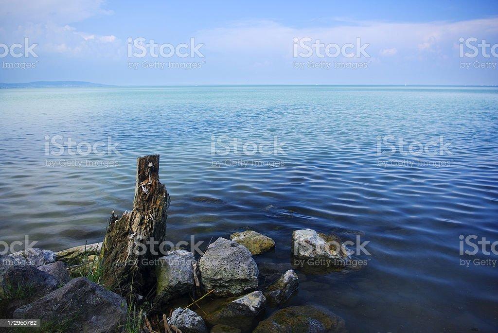 From the coast royalty-free stock photo