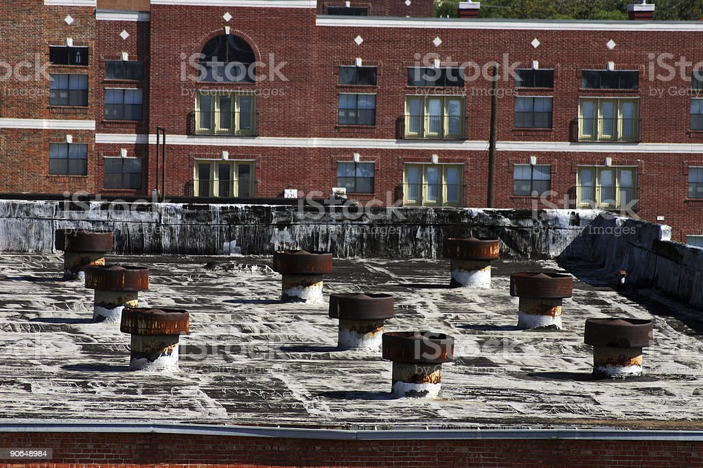 From The Rooftop royalty-free stock photo