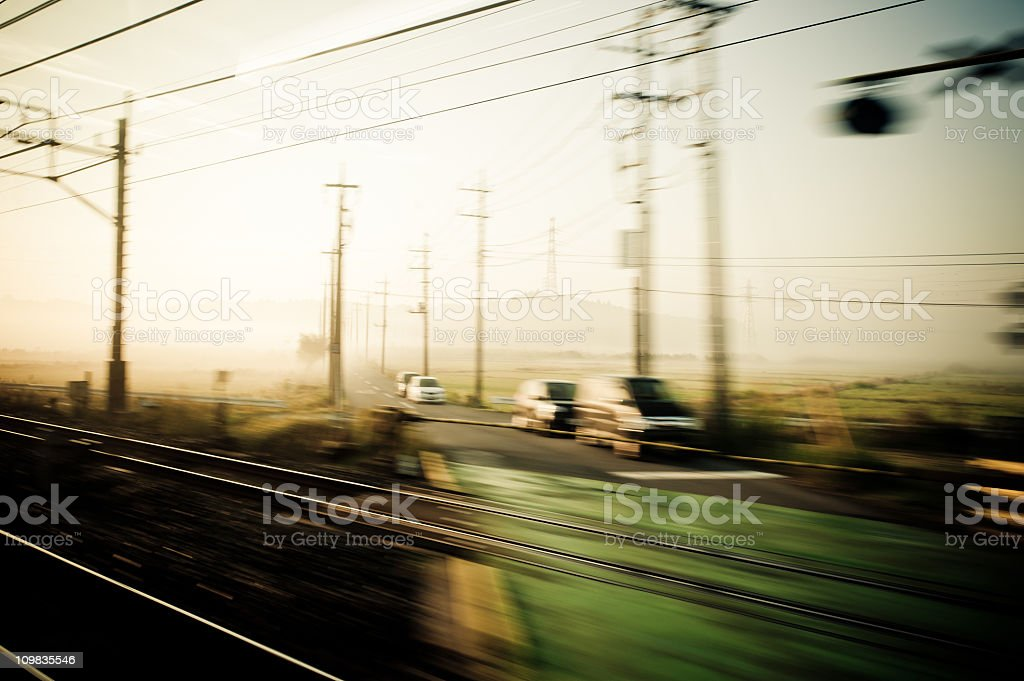 From the Train royalty-free stock photo