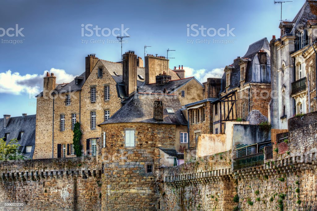 From Vannes, Brittany stock photo