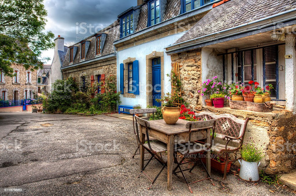 From Ville Close, Concarneau, Brittany stock photo