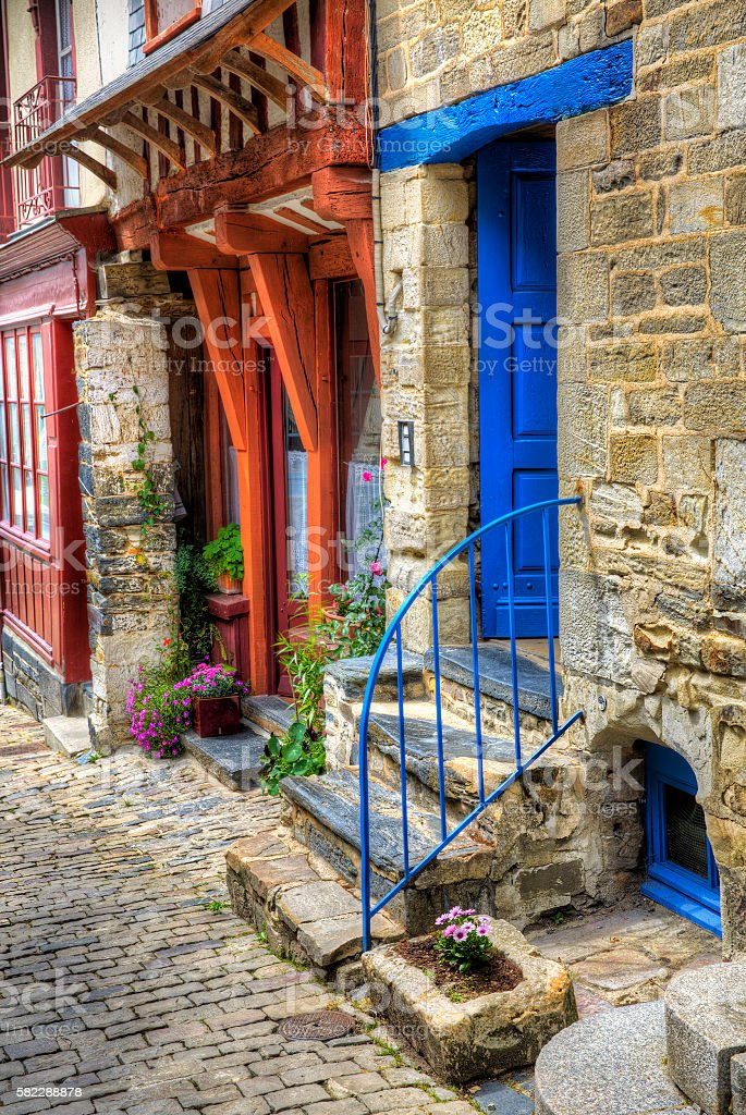 From Vitre, Brittany stock photo