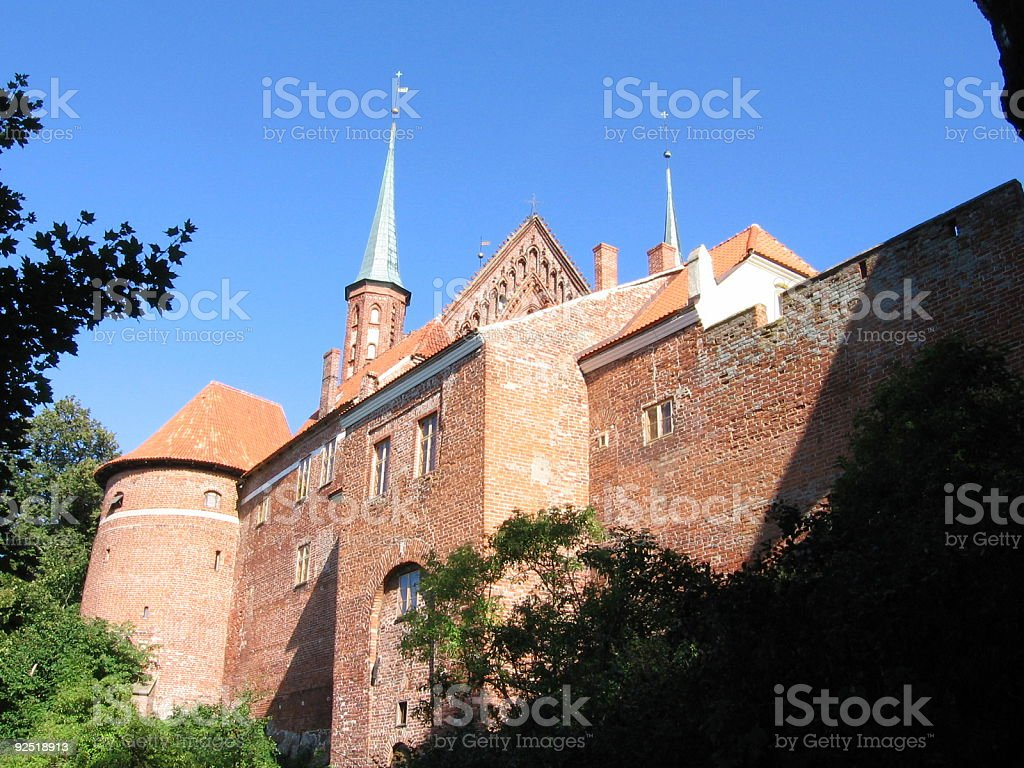 Frombork Cathedra royalty-free stock photo