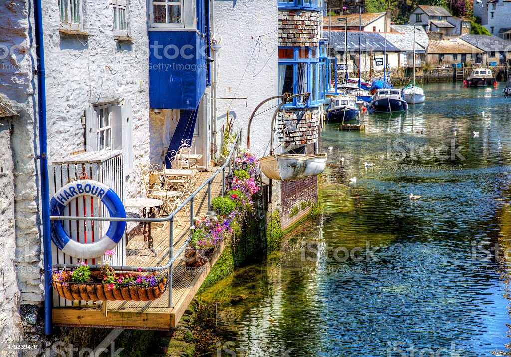 FromPolperro, Cornwall stock photo