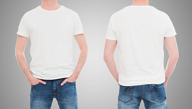 White T Shirt Front And Back Pictures, Images and Stock Photos ...