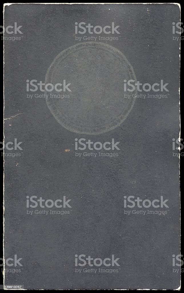 Front cover of an old booklet royalty-free stock photo