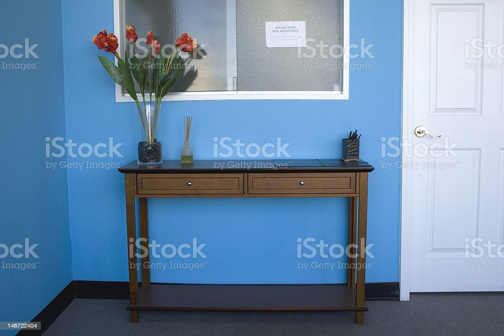 Front Desk royalty-free stock photo