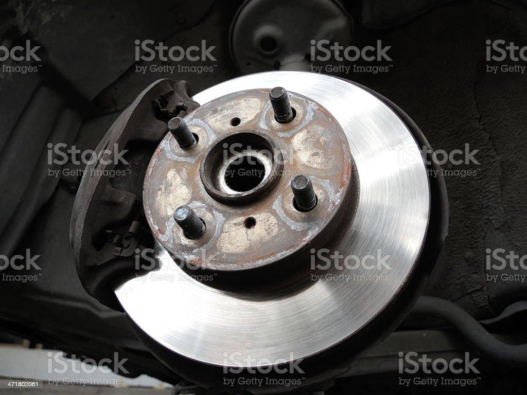 Front disc break royalty-free stock photo