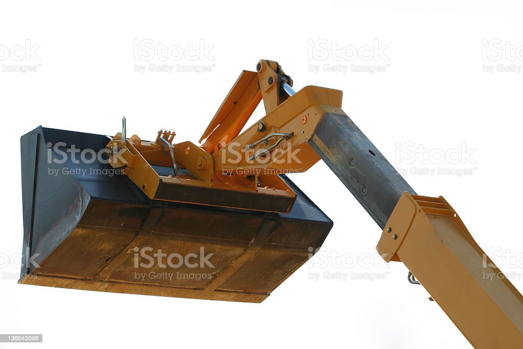 Front End Loader Bucket stock photo