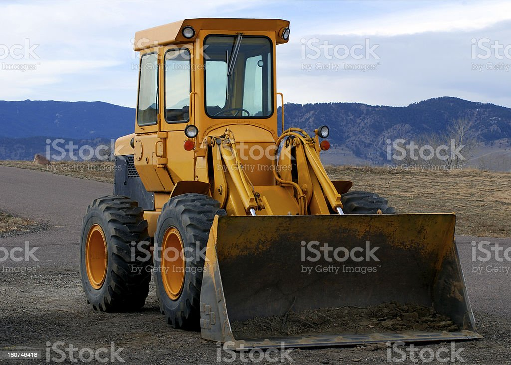 Front End Loader royalty-free stock photo