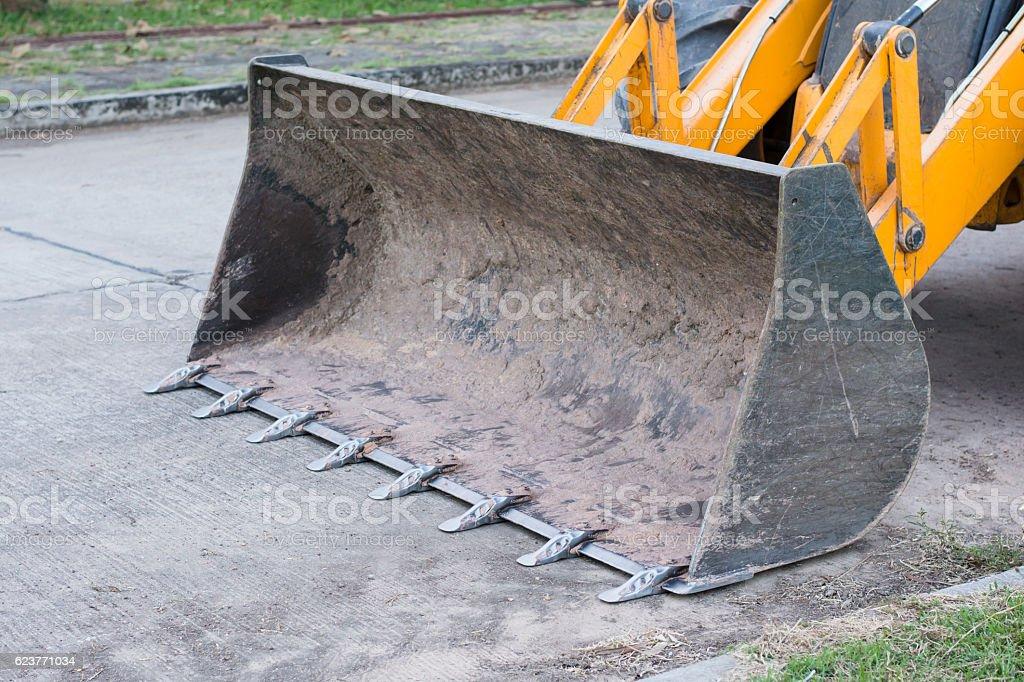 Front end loader stock photo