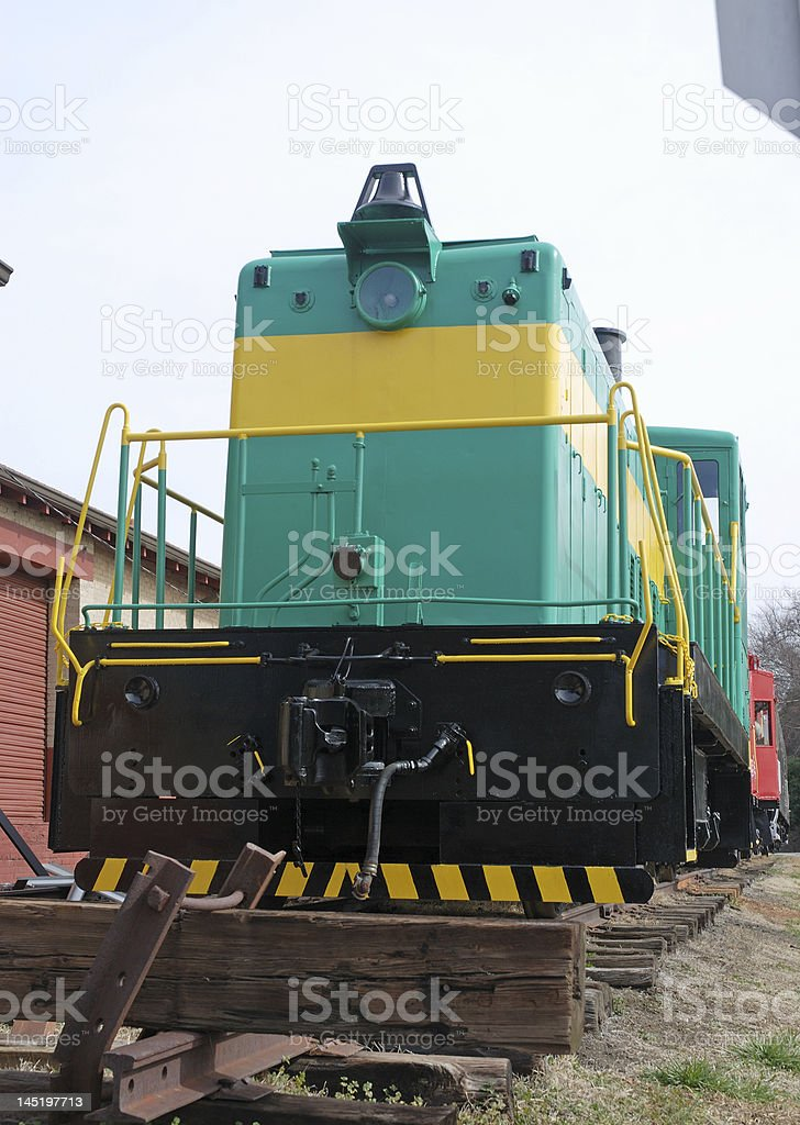 Front End of Railroad Car royalty-free stock photo
