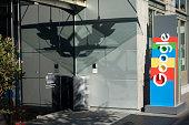 Front Entrance Sign at Google Alphabet Technology Corporation Building Seattle