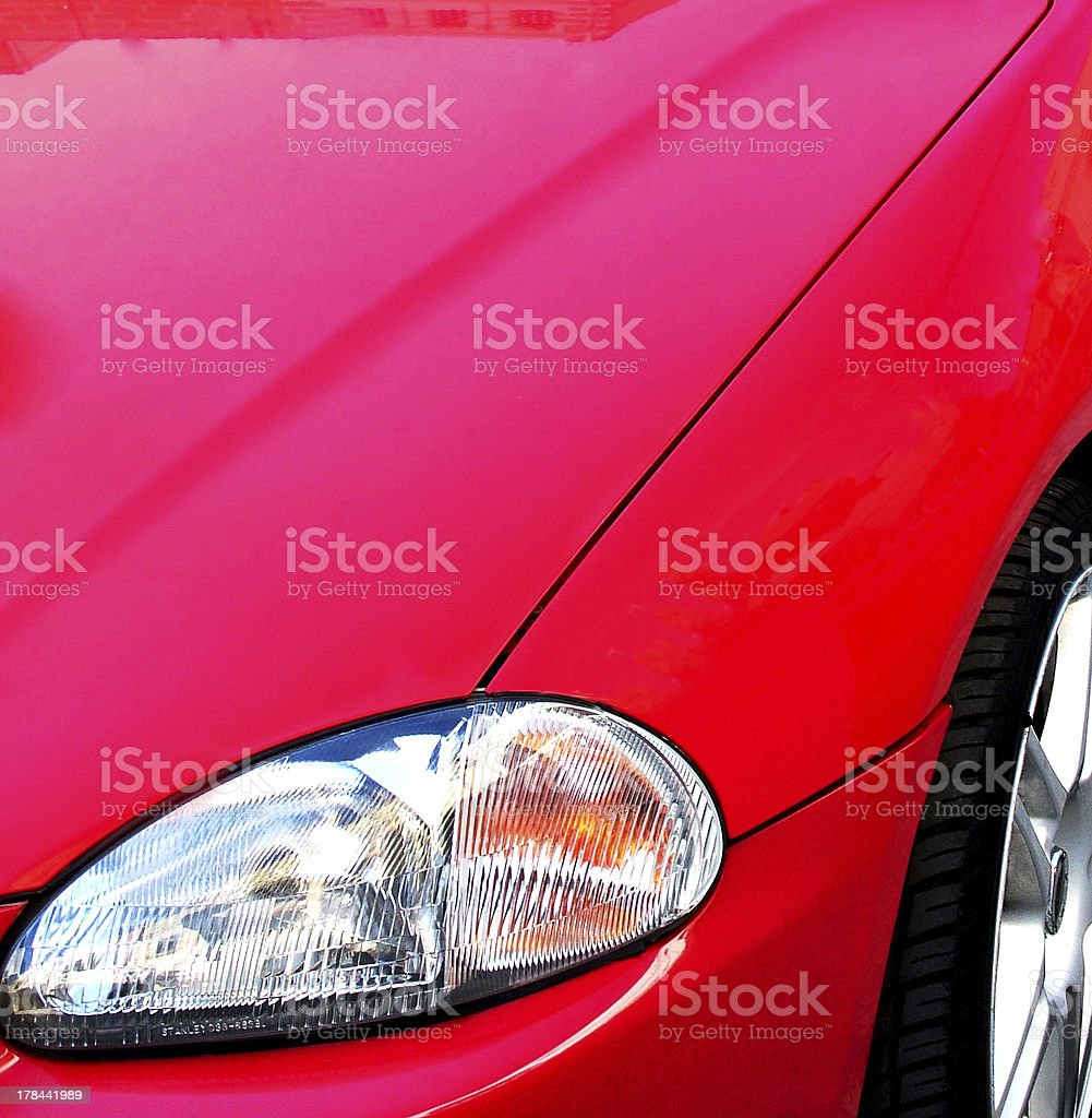 Front Left Detail royalty-free stock photo