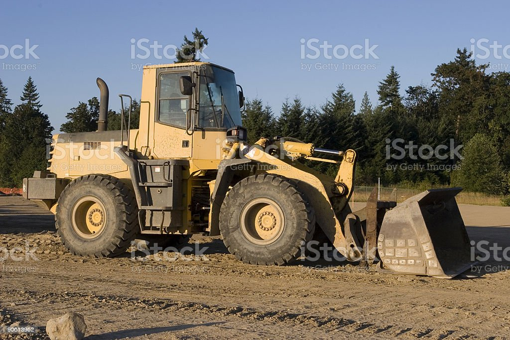 Front Loader Construction Equipment royalty-free stock photo