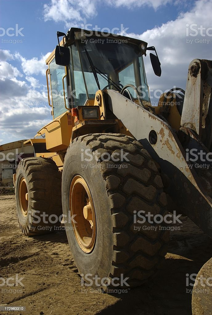 Front Loader stock photo