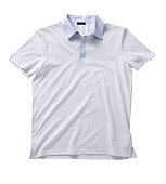 Front of a clean White T-Shirt (Polo).