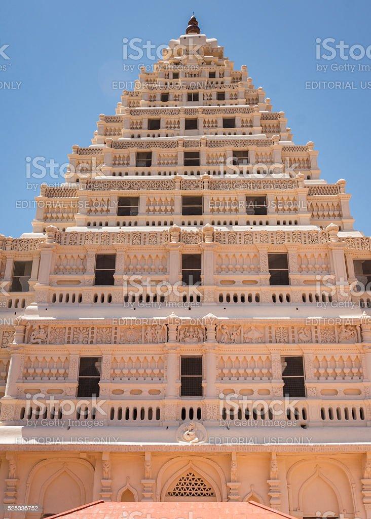 Front of Arsenal Tower at Thanjavur Palace stock photo