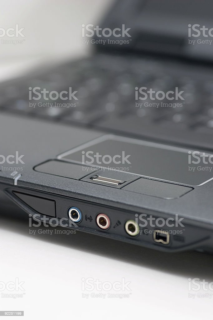 Front of open notebook royalty-free stock photo