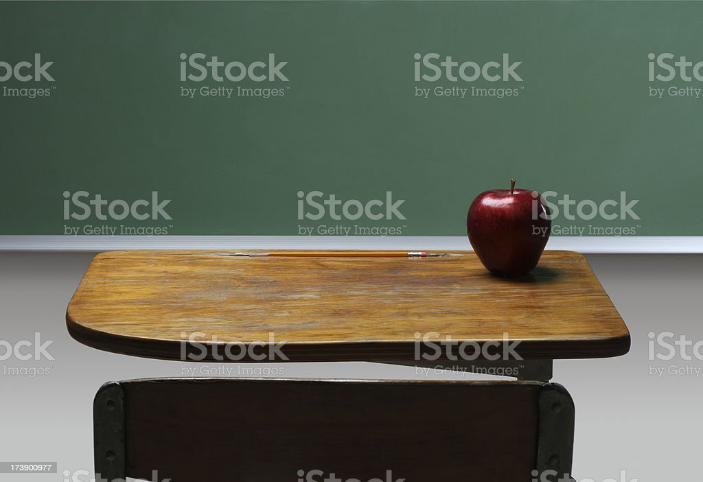 Front of the Class royalty-free stock photo