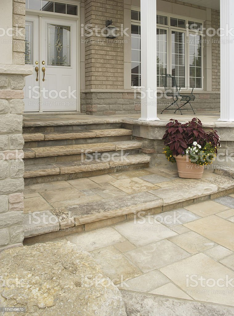 Front of the House royalty-free stock photo