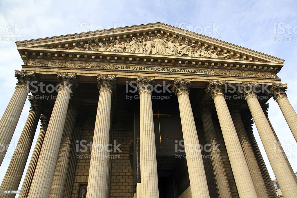 Front of the Temple royalty-free stock photo