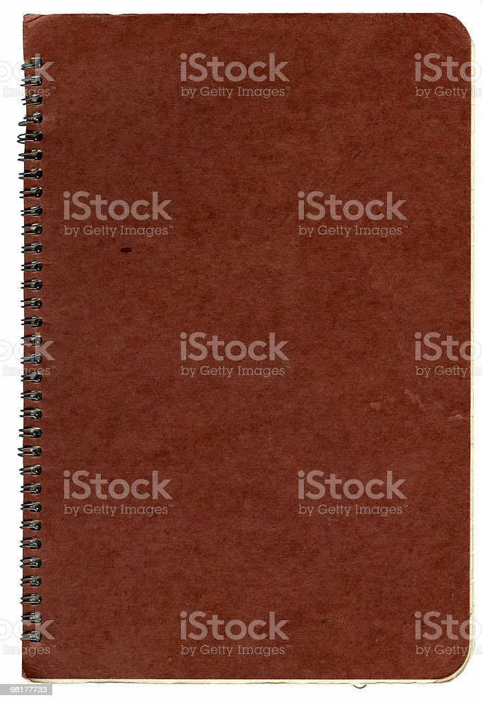 front of worn book royalty-free stock photo