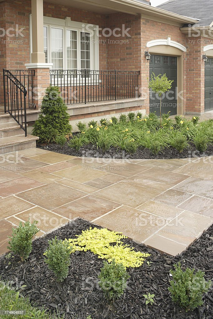 Front Path royalty-free stock photo