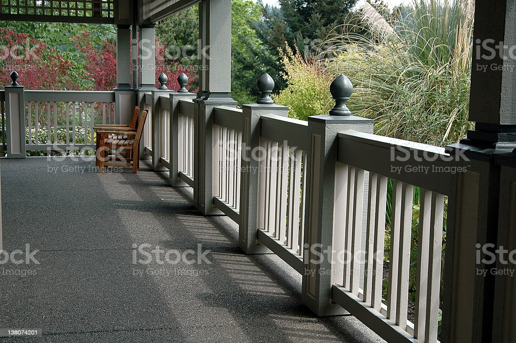 Front Porch royalty-free stock photo