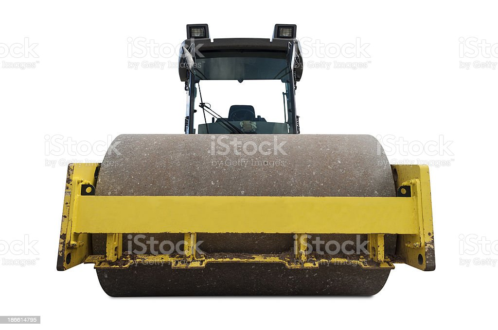 Front roller royalty-free stock photo