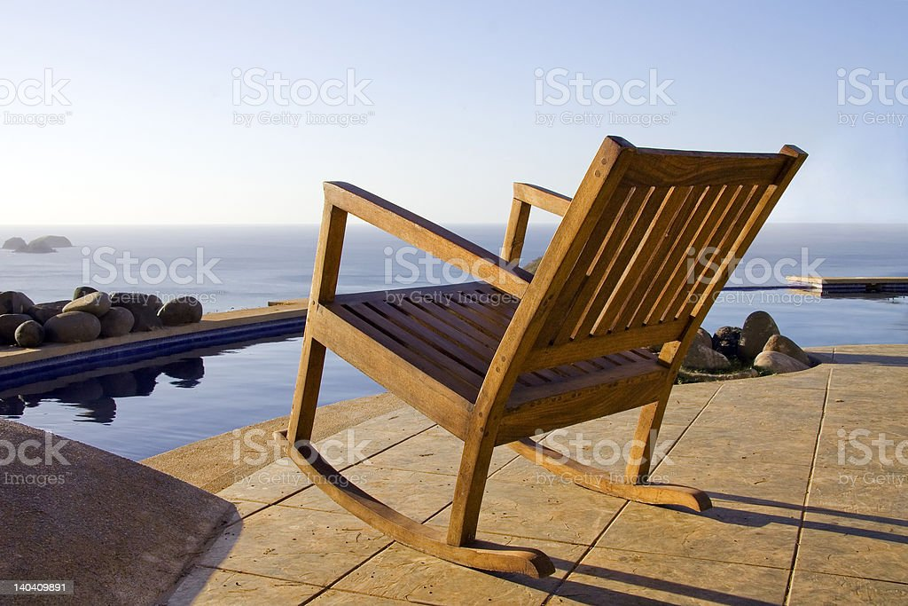 Front row seat for the sunset royalty-free stock photo