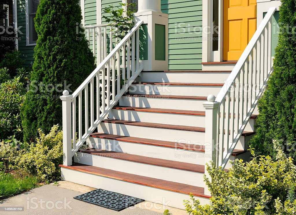 Front Stoop stock photo