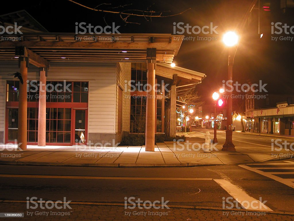 Front Street royalty-free stock photo