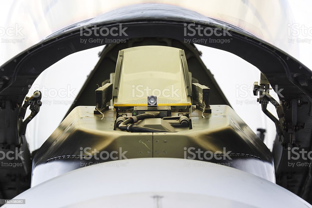 Front view cockpit royalty-free stock photo