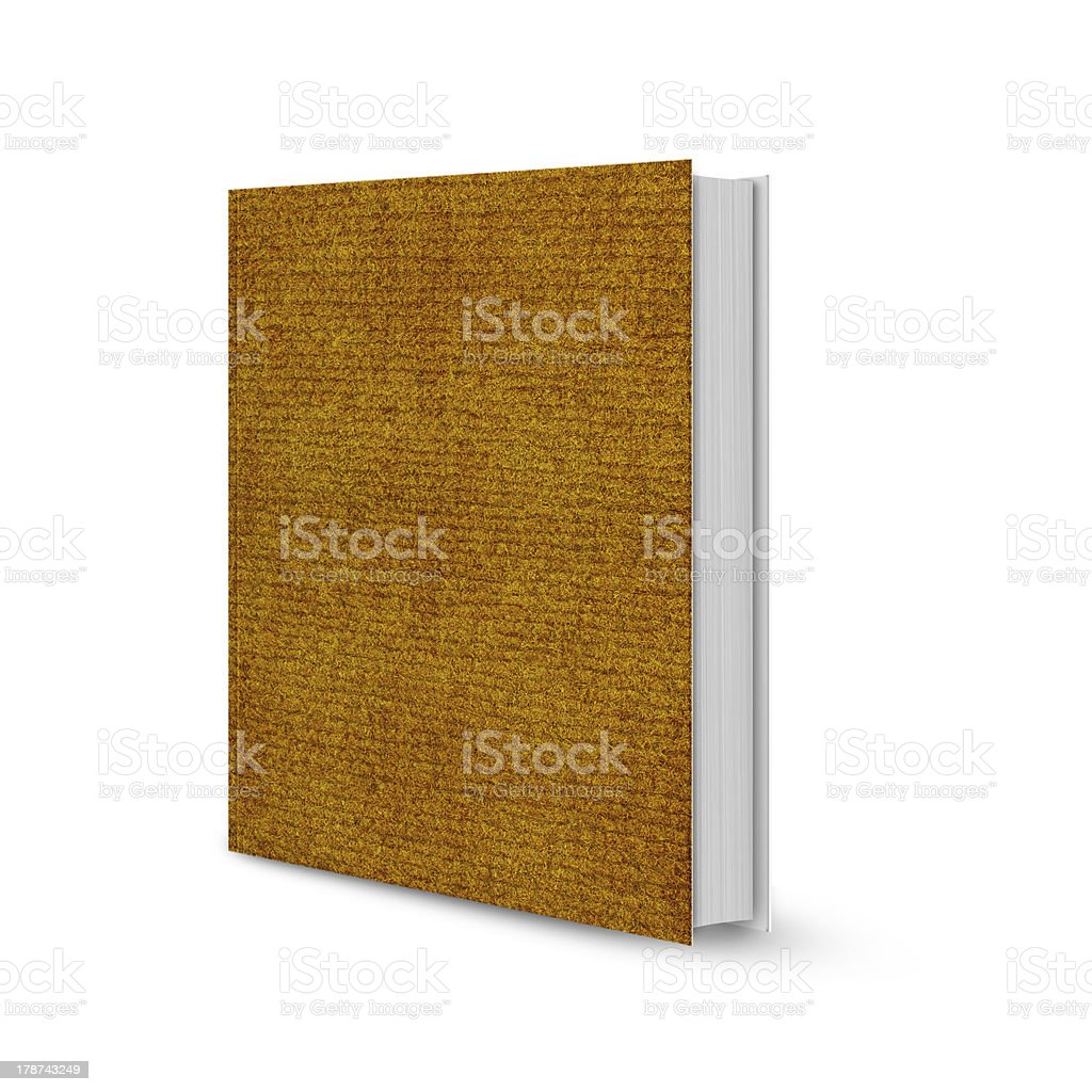 Front view of book royalty-free stock photo