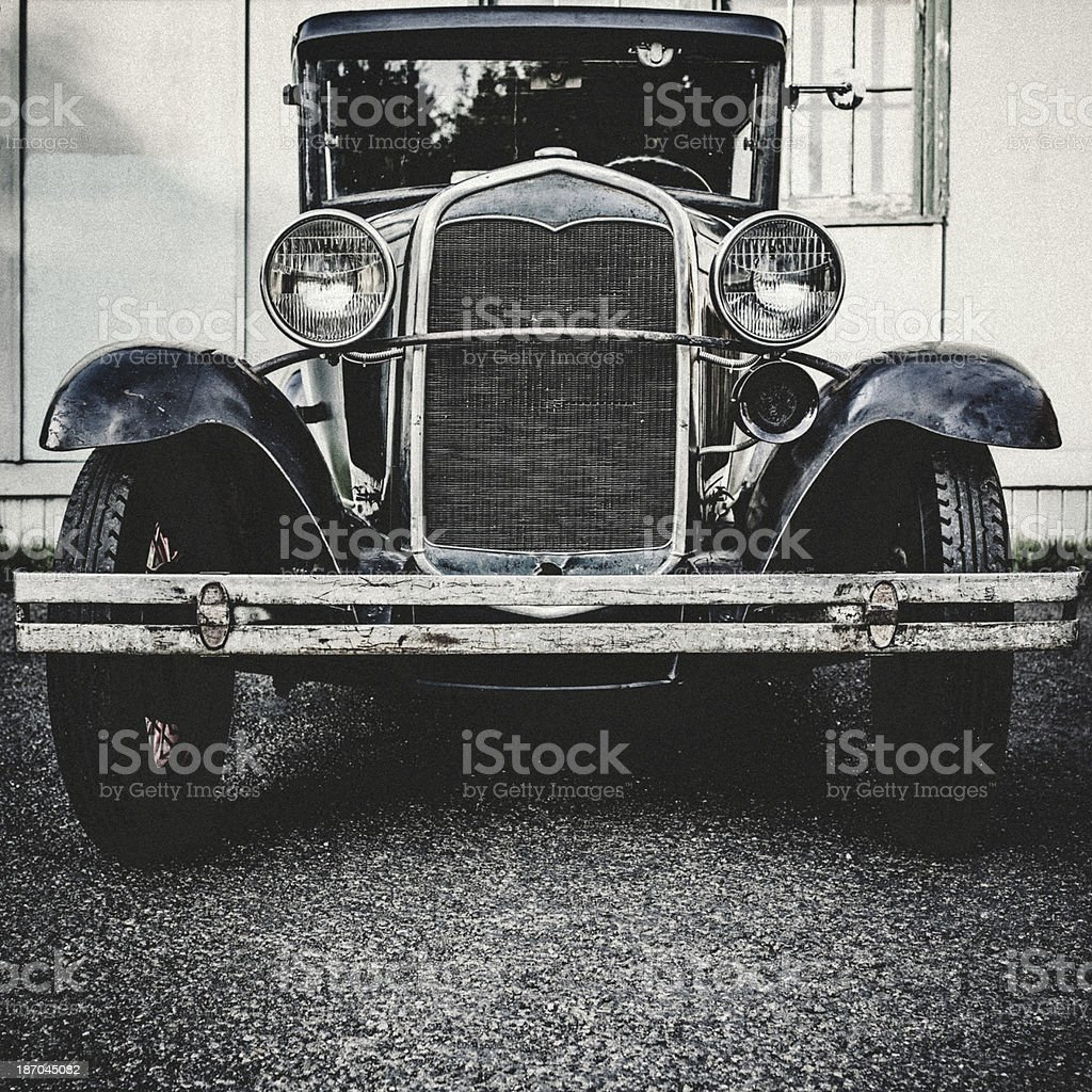 Front View of Model T stock photo
