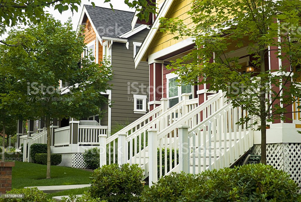 All American Homes seattle homes pictures, images and stock photos - istock